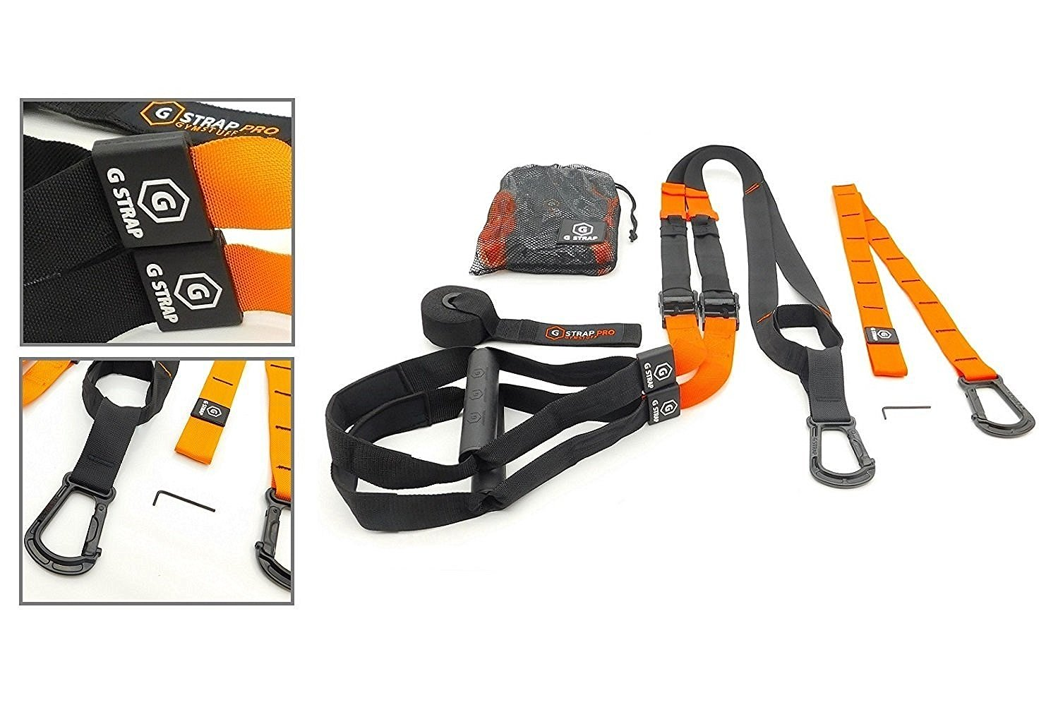 GYMSTUFF G-STRAP (6 COLORS) Suspension Body Fitness Trainer.