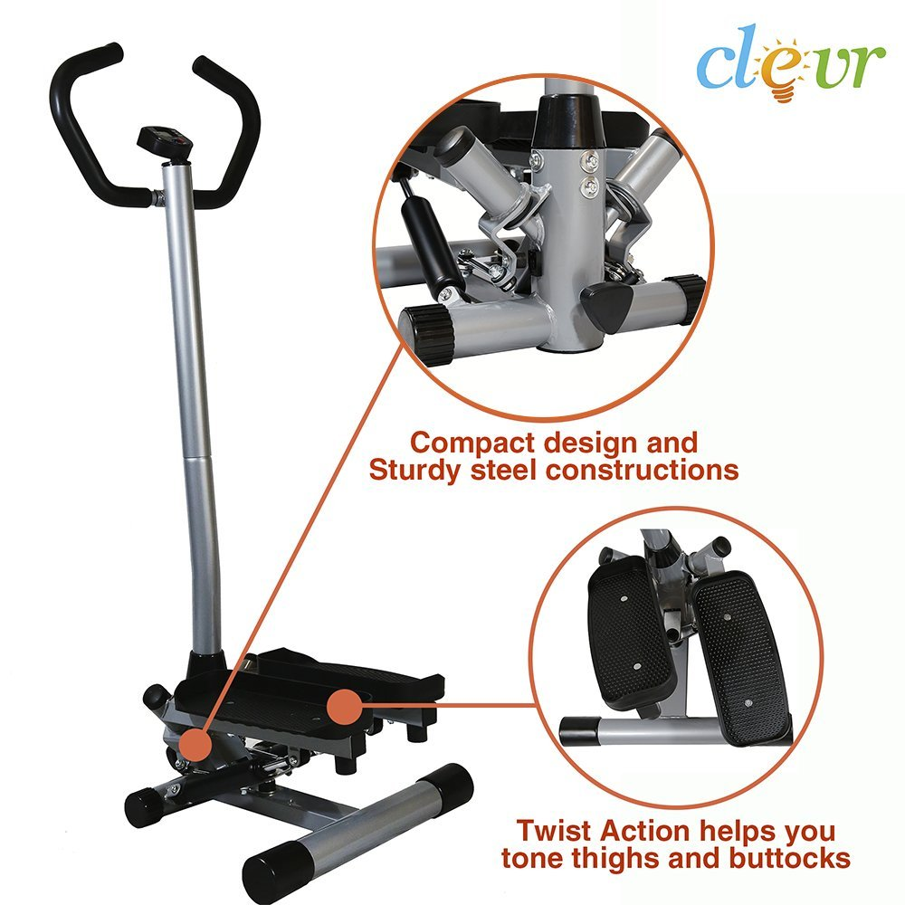 NEW Clevr Twister Stepper Step Machine